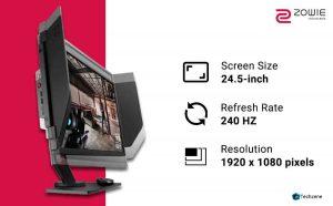 BenQ Zowie XL2546 24.5 Inch FHD 240hz Gaming Monitor