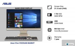 Asus Vivo V222UAK-BA084T 21.5-inch All-in-One Desktop