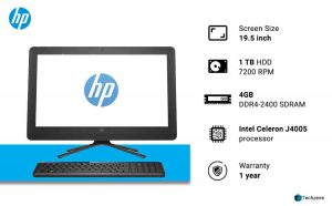 HP Pavilion 20-c416il 19.5-inch Full HD All-in-One Desktop