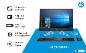 HP 22-C0013in 21.45-inch All-in-One Desktop