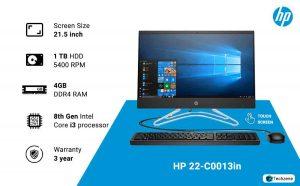 HP 22-C0013in 21.45-inch All-in-One Desktop