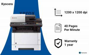 Kyocera Kyom2040Dn 1102S32Us0 Multi-function Monochrome Laserjet Printer