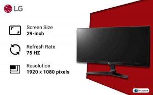 LG 29 inch 75Hz Gaming Monitor InBuilt Speaker
