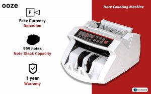 Ooze Currency Counting Machine