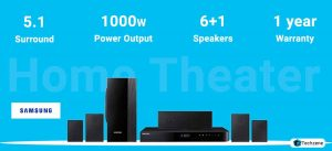 Samsung HT-J5100K/XL 5.1 Channel Home Theatre System