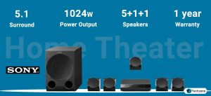 Sony HT-IV300 Real 5.1ch Dolby Digital Home Theatre System