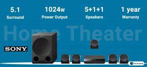 Sony HT-RT3 5.1 channel Dolby Digital Soundbar Home Theatre System
