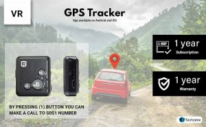 VR Mini Gps Tracker RF-V16