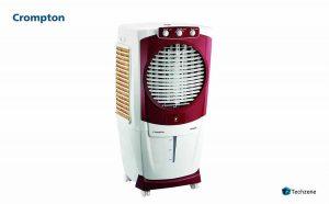 Crompton Aura Woodwool 55-Litre Desert Cooler