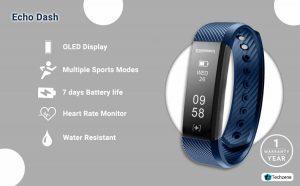 Echo Dash HR Fitness Band & Smart Watch1