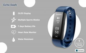 Echo Dash HR Fitness Band & Smart Watch1