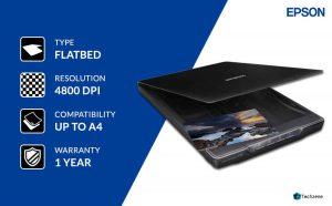 Epson Perfection V39 Portable Scanner