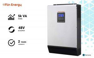 Flin Energy Slim MPPT Hybrid Solar Inverter