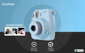 Fujifilm Instax Mini 8 Instant Point and Shoot Camera