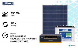 Luminous NXZ1100 Solar Panel Inverter