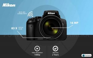 Nikon Coolpix P900 16.0MP Point and Shoot Camera