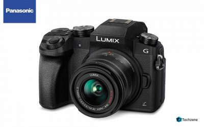 Panasonic Lumix DMC-G7KGW-K 4K Mirrorless Camera