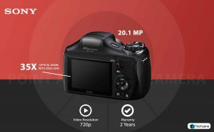 Sony Cyber-Shot DSC-H300/BC E32 Point & Shoot Digital Camera