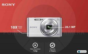 Sony Cybershot DSC-W830/S 20.1MP Digital Camera