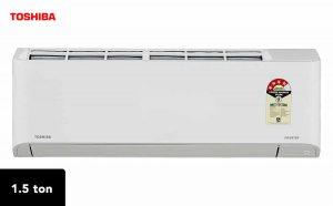 Toshiba 1.5 Ton 4Star Inverter Split AC RAS-18BKCV-IN+RAS-18BACV-IN