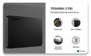 Toshiba Canvio Basic 1TB A3 Drive