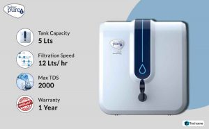 HUL Pureit Advanced 6 Stage 5L Water Purifier