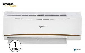 AmazonBasics 1 Ton 3 Star 2019 Split AC (Copper, White)