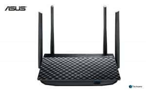 Asus RT-AC58U AC1300 Dual Band Gigabit Wireless Router (Black, Not a Modem)
