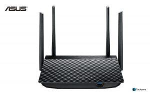 Asus RT-AC58U AC1300 Dual Band Gigabit Wireless Router (Black, Not a Modem)