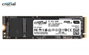 CRUCIAL P1 500GB M.2 Solid State Drive