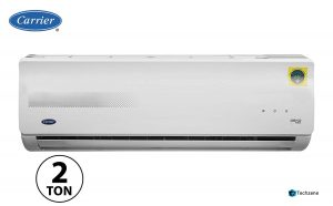 Carrier 2 Ton 3 Star Split AC (Copper, CAS24EK3R39F0+CF243R3AC90, White)