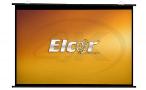 ELCOR Map Type Projector Screen