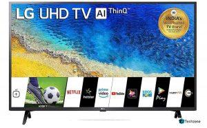 LG 108 cm (43 inches) 4K UHD Smart LED TV