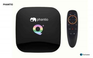 PHANTIO Q+ Android 9.0 Smart TV Box