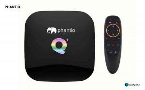 PHANTIO Q+ Android 9.0 Smart TV Box
