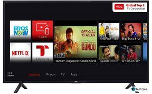 TCL 100.3 cm (40 Inches) Full HD LED Smart TV 40S62FS