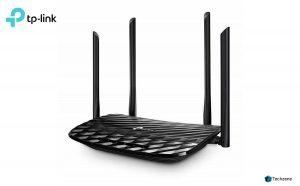 TP-Link Archer C6 AC1200 Wireless MU-MIMO Gigabit Router (Black)