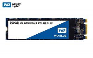 Western Digital Blue 500GB M.2 Internal Solid State Drive