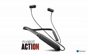 Flybot Action Bluetooth Neckband Earphones