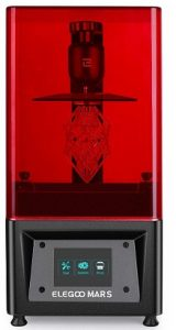 3D Bazaar ELEGOO Mars UV Photocuring LCD 3D Printer