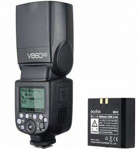 Godox Ving V 860 II TTL Li-Ion Flash Kit for Canon Cameras