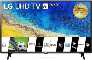 LG 108cm 4K Smart LED TV