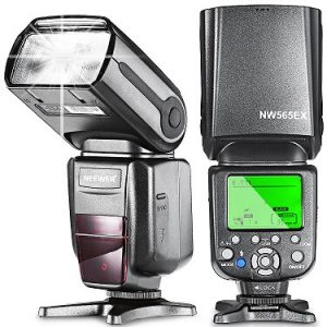 Neewer NW-565 EXC E-TTL Slave Speedlite Flashlight