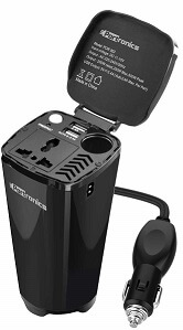 Portronics CarPower One Portable 200W Car Inverter