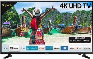 Samsung 108 cm (43 Inches) 4K LED Smart TV