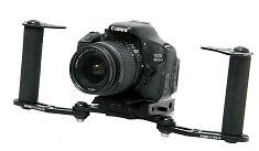 Shootvilla Handheld Gimbal Stabiliser for Cameras (Black)