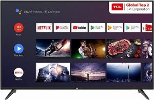 TCL 108 cm (43 inches) 4K Smart LED TV