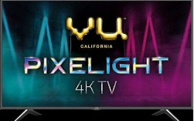 VU 108 cm (43 Inches) 4K  Smart LED TV