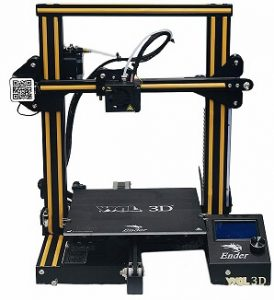 WOL3D UPGRADED Creality Ender 3 DIY 3D Printer