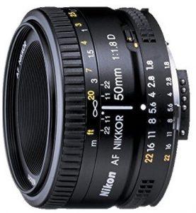 Nikon 50mm Nikkor lenses
